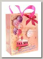 Пакет Тортик объемный S