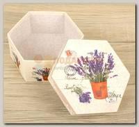Коробка подарочная 'Лаванда'