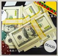 Конверт для денег '100$' (маленький)