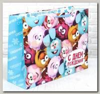 Пакет 'Смешарики С Днем Рождения' XL