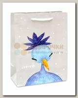 Пакет 'Синяя птичка' MS 18 * 23 * 10 см
