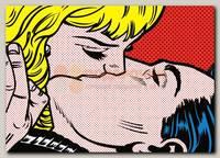 Открытка 'Поцелуй'