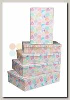 Коробка подарочная Прямоугольник 'Мозаика' 40 * 28 * 10 см