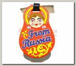Бирка для чемодана 'From Russia'
