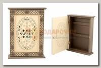 Ключница 'Sweet Home' коричневая