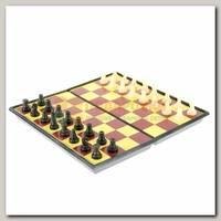 Игра настольная 3 в 1: шашки, шахматы, шахматы-шашки