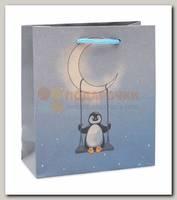 Пакет 'Мистер пингвинчик' S 16 * 18 * 7 см