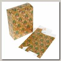 Коробка сборная 'Ёлочка с подарками' с НГ
