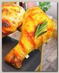 Подушка Куриная нога жареная с укропом 90 см