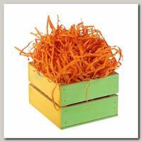 Наполнитель декоративный бумажный Оранжевый 100 гр