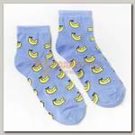 Носки 'Бананы' р-р 23-25