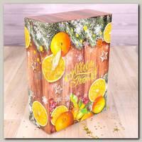 Коробка сборная 'Зимние мандарины'