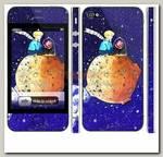 Наклейка на iphone 4/4S 'Маленький принц'