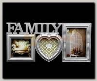 Фоторамка 'Family' серебро