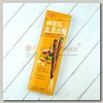 Печенье палочки шоколадные с миндалём Sunyoung Almond Choco Stick, 54 гр.