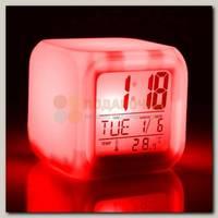 Часы будильник 'Куб'