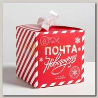 Коробка сборная 'Почта новогодняя' 25 * 25 * 25 см