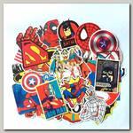 Набор наклеек 'Супергерои' 50 шт