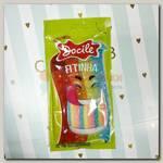 Мармелад Docile LICORICE SOUR COLORED BELTS (Цветные ЛЕНТЫ со вкусом клубники) 70 гр