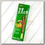 Печенье палочки шоколадные с арахисом Sunyoung Peanut Choco Stick, 54 гр.
