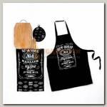 Набор для кухни 'Шеф-повар №1' (фартук, полотенце, прихватка)