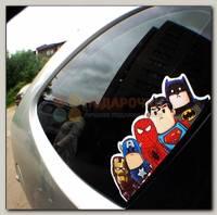Автонаклейка 'Супергерои'