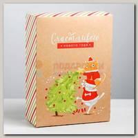 Коробка сборная 'Новогодние шалости' 22 * 30 * 10 см