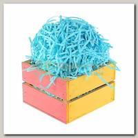 Наполнитель декоративный бумажный Голубой 100 гр