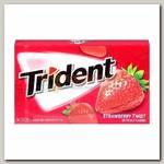 Жвачка 'Trident' Strawberry Twist Gum Клубника