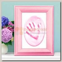Набор для создания слепка в рамке 'Наше солнышко' розовый