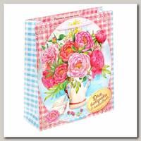 Пакет 'Для бабушки с любовью' ML 23 * 27 * 8 см