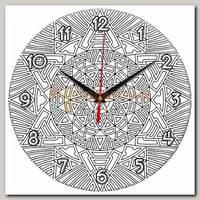 Часы настенные 'Солнце' (Раскрась сам)