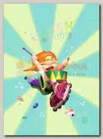 Открытка 'С днем рождения!' (мальчик с барабаном ) Д. Гаврилов
