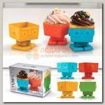 Форма для выпечки 'Yum Bots' Робот (набор 4 шт.)