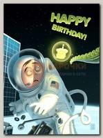 Открытка 'Happy Birthday!' Д. Зильбер