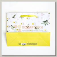 Пакет 'Цвети от счастья' L 40 * 9 * 31 см